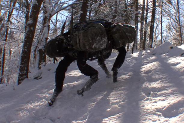 Big Dog from Google's Boston Dynamics