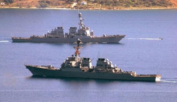 Warships From Iran Sailing Towards The American Coast