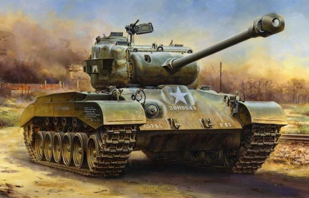 m26 Pershing Tank