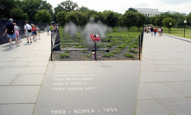 Korean War Memorial Soldiers Got Copyrighted