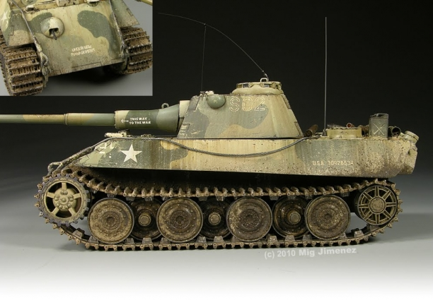 Check Out This Weathering Technique...Wow, I Did Not Know A Model Tank Can Look So Real.