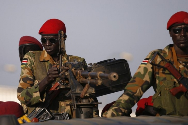 U.S. Forces Deploying For Sudan