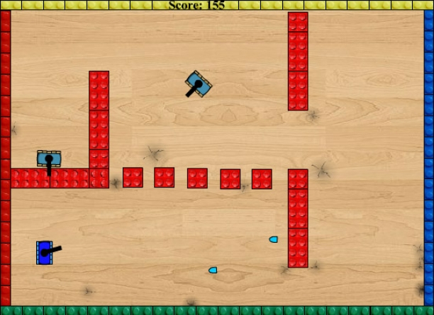 Toy Tank Arena Game