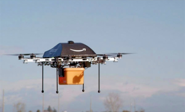 Amazon Tests Delivery Drones