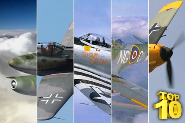 Discover The Top Ten Fighter Planes Of WW2