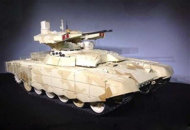 Amazing BMPT-72 'Terminator 2' Tank Presentation