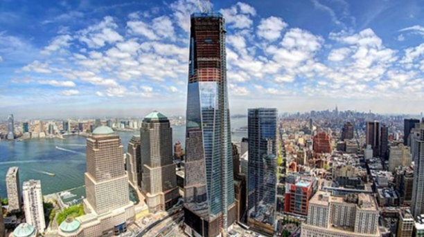 Freedom Tower Construction In 1 Minute