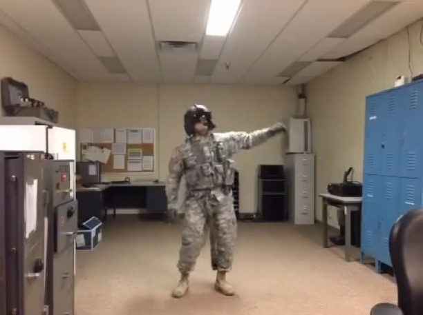 Harlem Shake Air Force Style