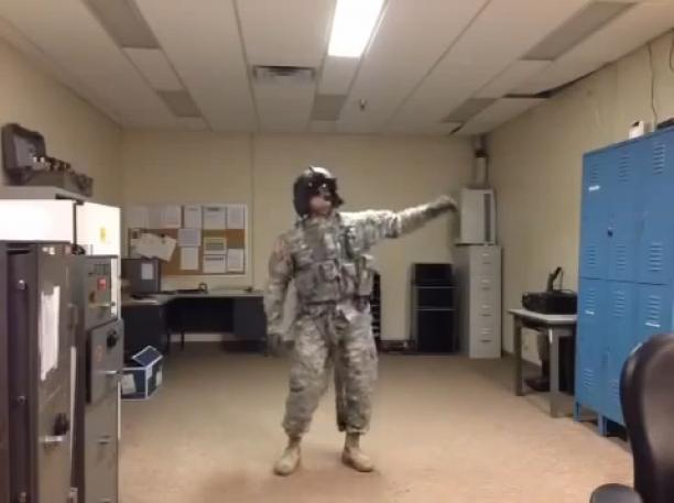 Harlem Shake Air Force Style