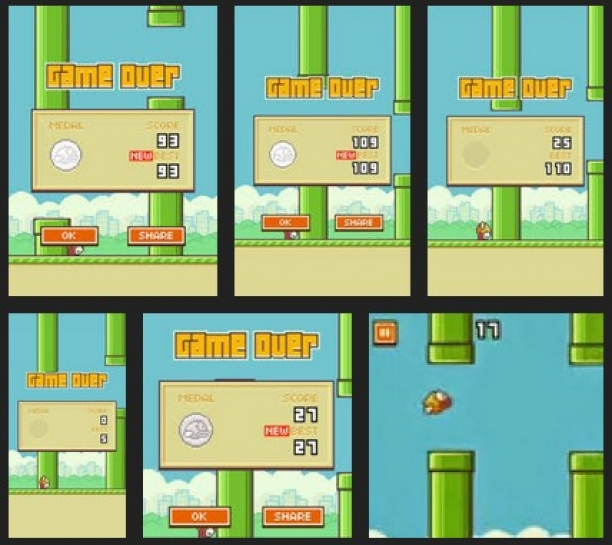 What Is Your Flappy Bird Best Score?