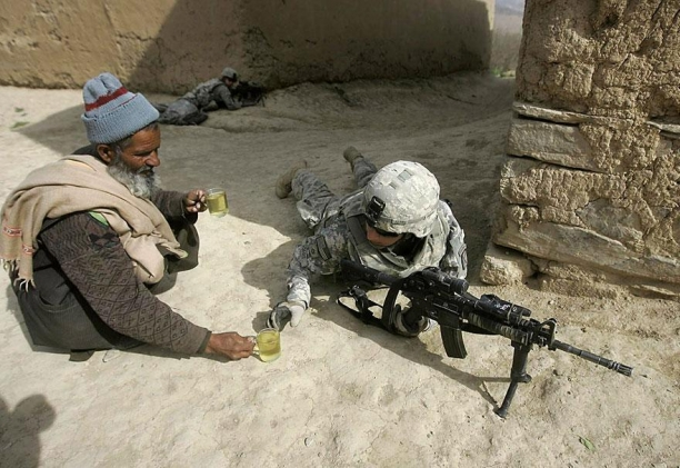 Shootout, Afghanistan And A Web Cam