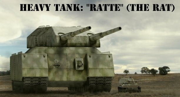 The Super-Heavy Tank Landkreuzer P. 1000 Ratte