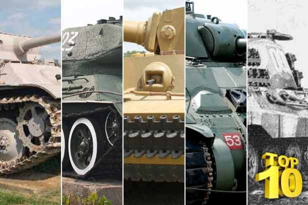 Come Explore The Top 10 World War II Tanks