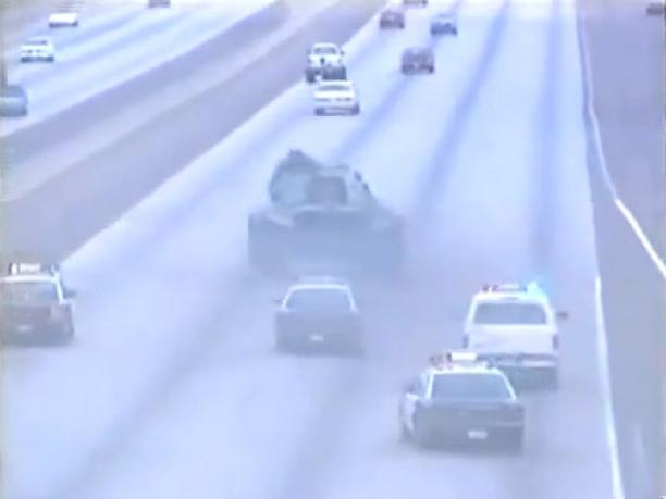 Stolen Tank, Police And One Crazy Veteran