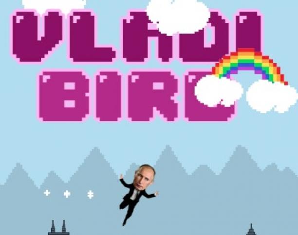 VladiBird: Possibly The Best Flappy Bird Clone Ever