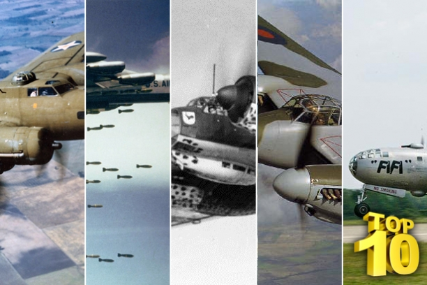 It's A Flying Circus...Top 10 Bomber Planes Of All Time