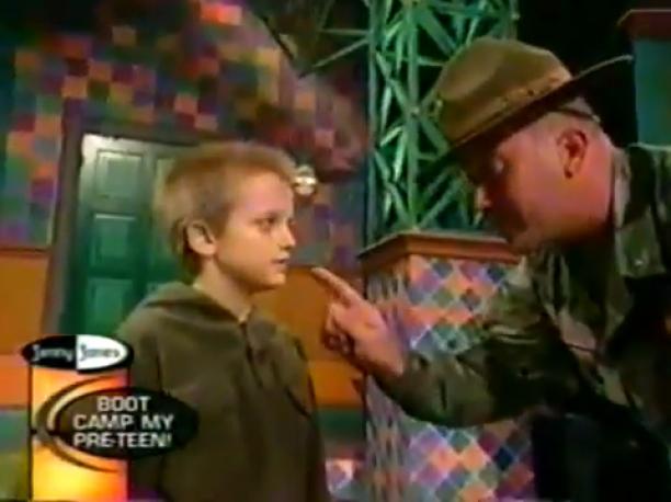Mean Kid Vs.  Drill Sergeant