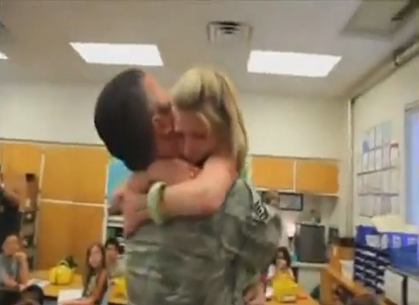 Soldier Homecoming Surprise...It Will Make You Cry