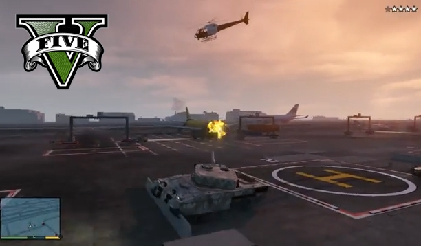 GTA 5 - How To Steal A Tank Like A Boss