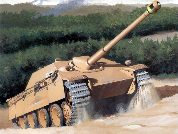 Jagdpanther (The Hunting Panther)