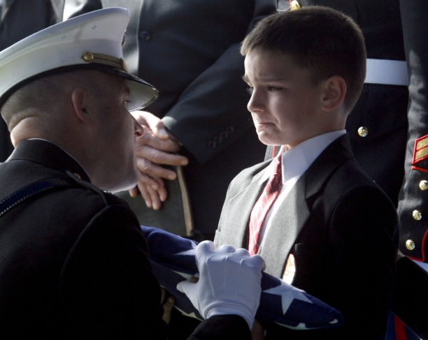 The Boy Who Lost His Father... Heart Breaking For Sure