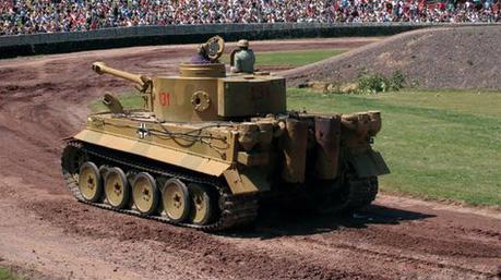 'Last' ww2 Tiger 131 Tank To Be Used In Brad Pitt Film