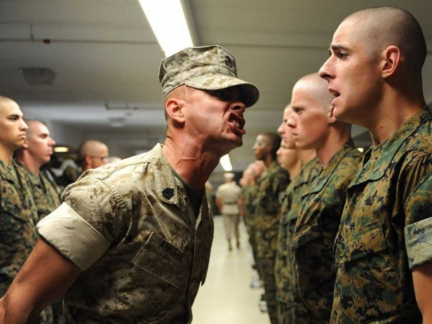 20 Pictures Of Marine DIs..I Would Not Want To Be The Girl In 17
