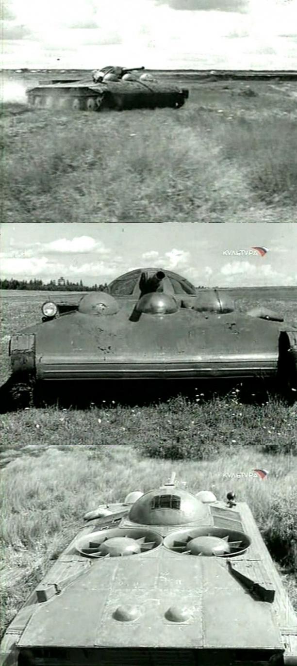 Versuchsgleitboot (Hovercraft) Designed By Vladimir Levkov