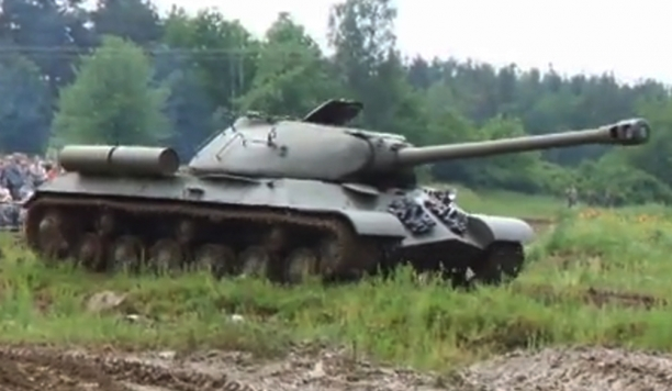 Operational Soviet heavy tank Josif Stalin IS-3