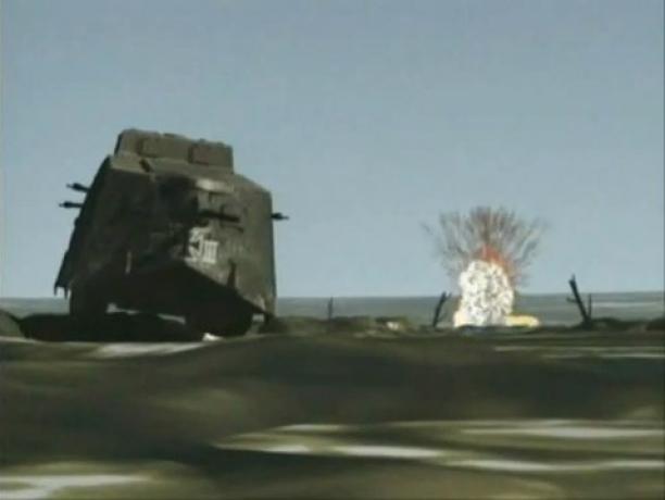 First Ever Tank vs. Tank Battle