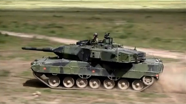 Leopard 2 -World's Greatest Tank in action...I want one