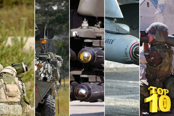 Top 10 Anti Tank Guided Missiles In The World...Nuff Said