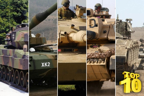Impressive Line Up In The Top 10 Main Battle Tanks