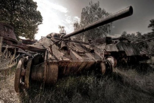 7 Tank Graveyards You Must See..Number 2 Is Crazy