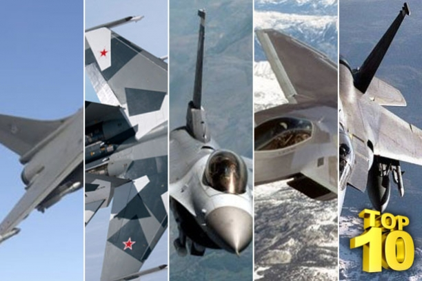 Amazing Machines In The Top 10 Fighter Jets In The World