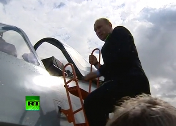 Putin's 'Stealth' PAK FA T 50 Fighter Jet