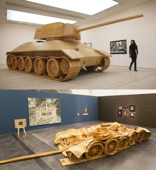 The Tank Artist Amy Cheung In London