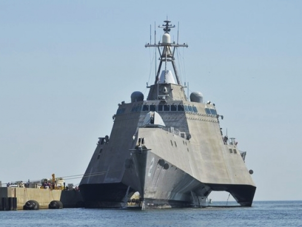The modern day warships from the Navy