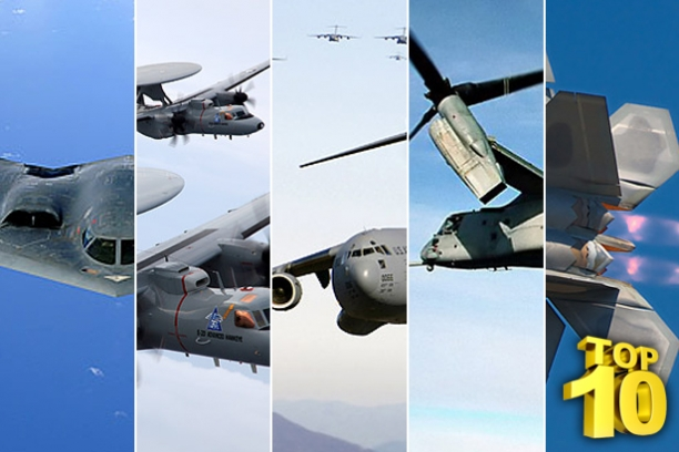 Top 10 Most Expensive US Military Aircrafts...They Seem To Be Getting More Expensive