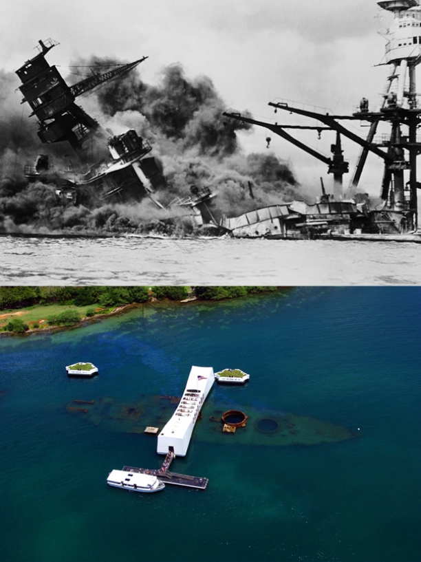 USS Arizona In Hawaii Still Leaking Oil 72 Years Later