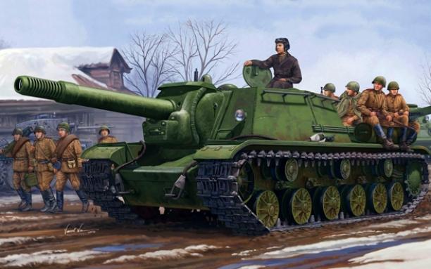ISU-152 (The Tiger killer)