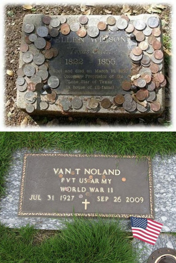 I Had No Idea Why Coins Are Left On Soldier Tombstones. Now I Want To Leave One Too.