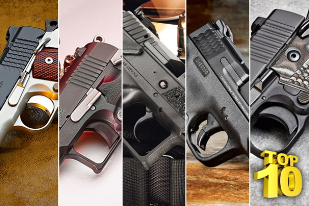 Equip Yourself With One Of The Top 10 Handguns For Self-Defense