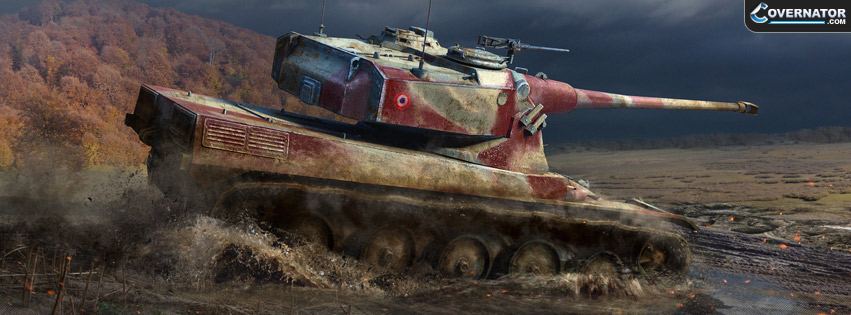 French AMX 50B Facebook cover