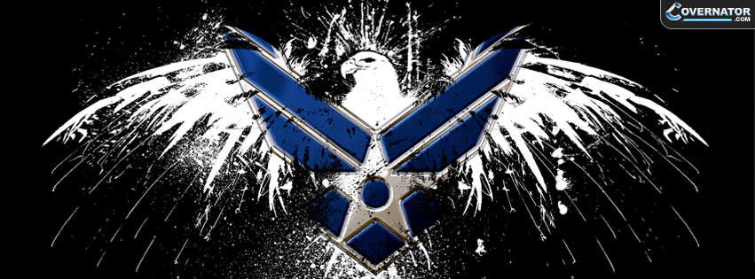 Air Force Military Logo Facebook cover