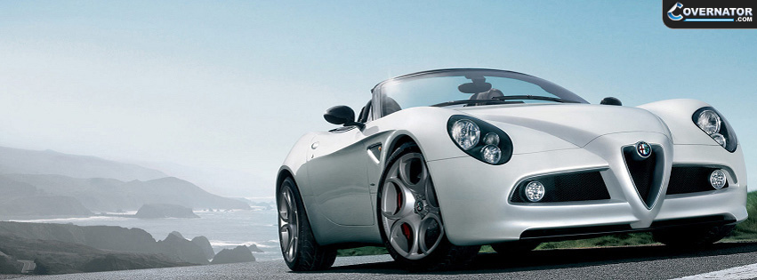 Alfa Romeo 4c Facebook cover