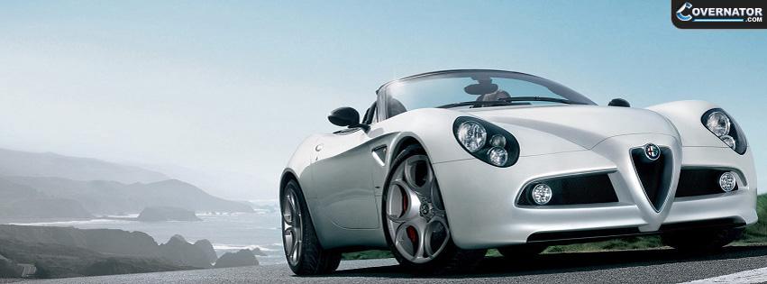 Alfa Romeo 4c Facebook Cover