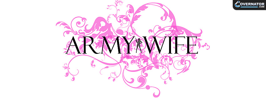 Army Wife Facebook cover