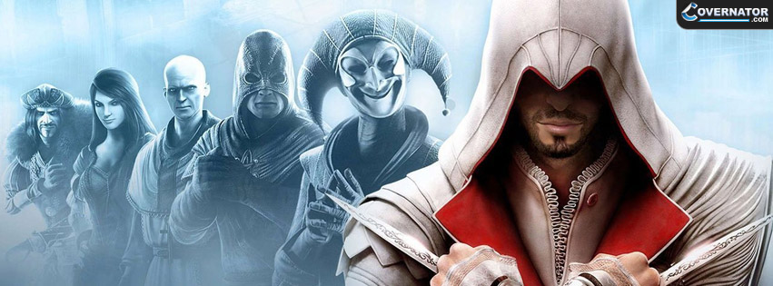 Assasins Creed: Brotherhood Facebook cover