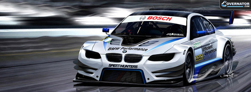 BMW Performance Car Facebook cover